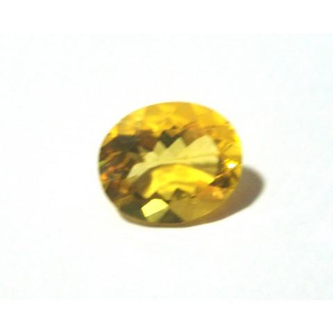 Opala de Fogo - Oval Facetada 13x11 mm
