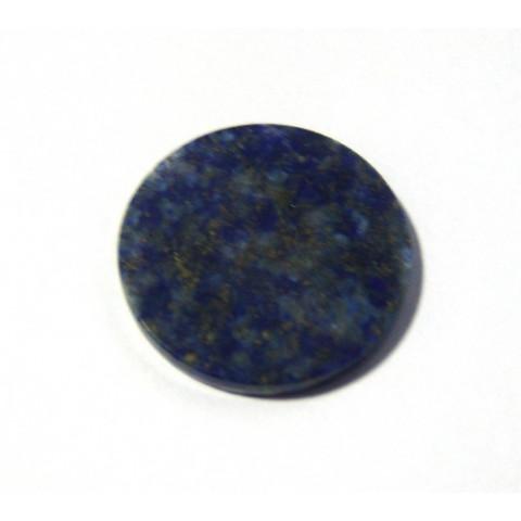 Lápis Lazule Placa Redonda 28 mm