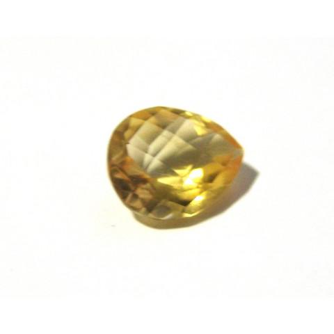 Citrino -Gota Facetada 13.70x11 mm
