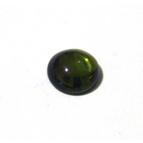 Turmalina Verde - Redonda Cabochão 8.60 mm