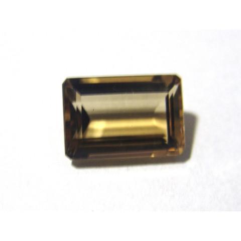 Green Gold Conhaque - Retangular Facetado 17.50x12 mm