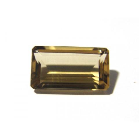 Citrino Retangular Facetado 20.50x12 mm