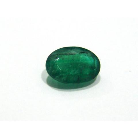 Esmeralda - Oval Facetada 10x7  mm