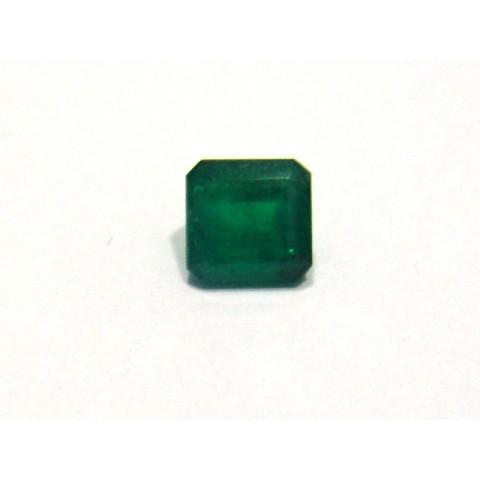 Esmeralda - Retangular Facetada 7x7.10 mm