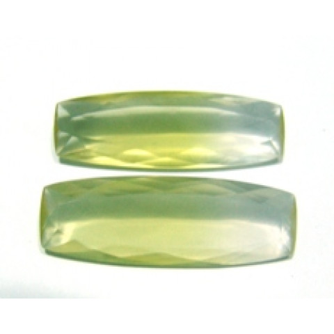 Green Gold Bicolor - Antique Facetado 43x15 mm