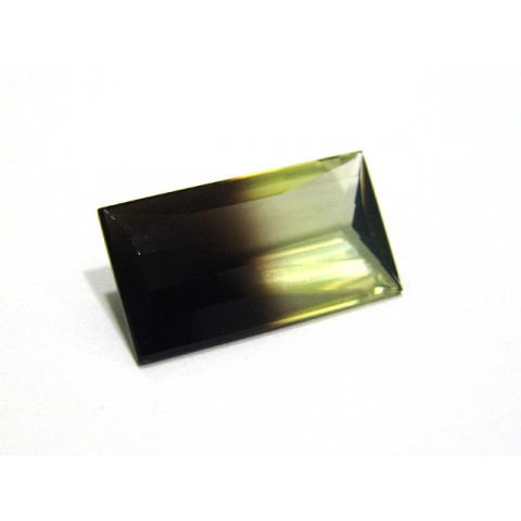 Green Gold Bicolor - Retangular Facetado 27x14.60 mm