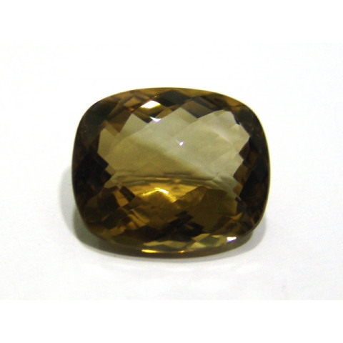 Green Gold Conhaque -  Antique briolet 26x21.60 mm