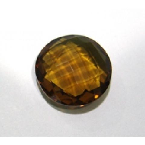 Green Gold Conhaque - Redondo Briolet 23.50x23.50 mm