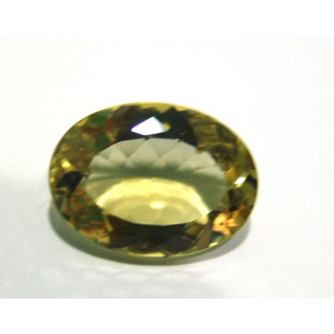 Green Gold - Oval Facetada 23x17 mm
