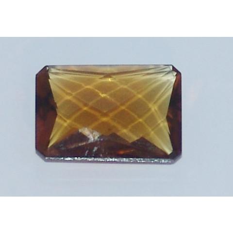 Green Gold - Retangular Briolet Conhaque