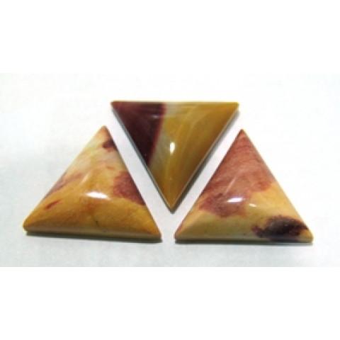 Jaspe Cabochão Triângulo 20x20 mm