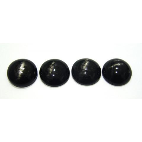 Obsidiana  Cabochão Redondo 24 mm