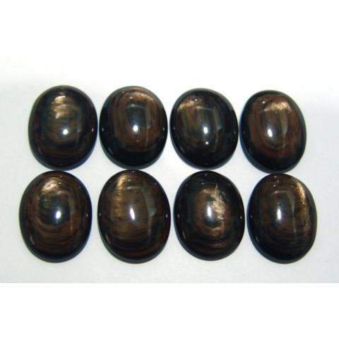 Obsidiana Dourada Cabochão Oval 24x19 mm