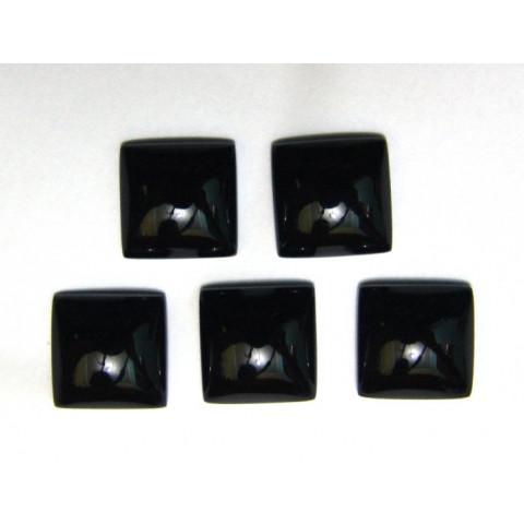 Obsidiana Negra - Carrê Cabochão 14mm