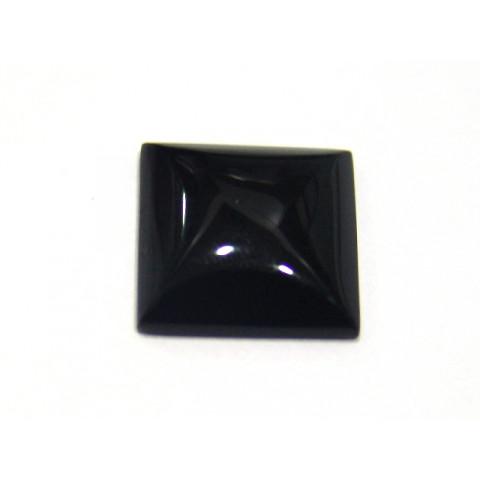 Obsidiana Negra - Carrê Cabochão 18 mm