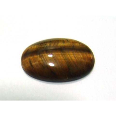 Olho de Tigre Cabochão Oval 28x18 mm