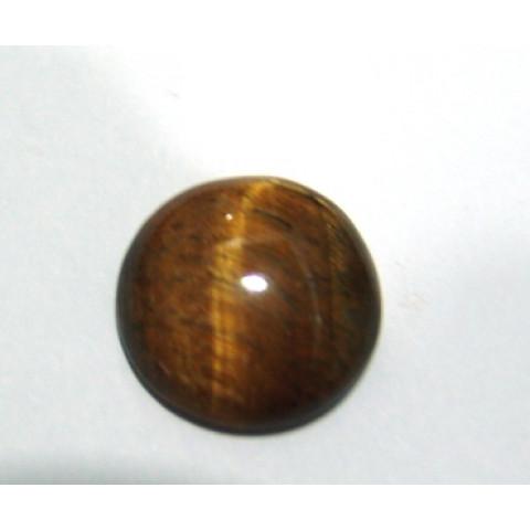 Olho de Tigre Cabochão Redondo 21.50 mm