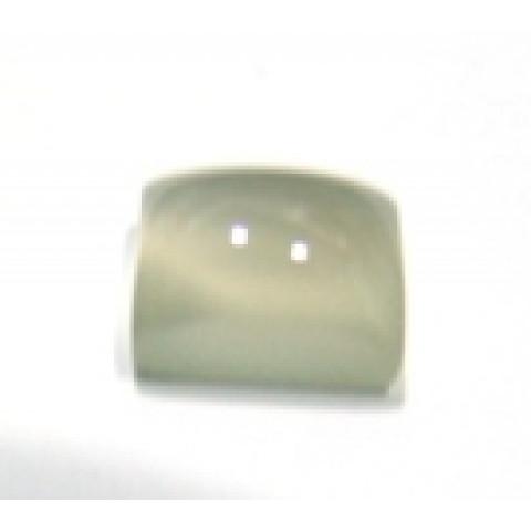 Pedra da Lua Retangular Cabochão 12x10 mm