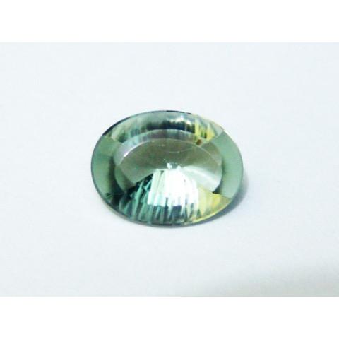 Prasiolita - Oval Millenium 15.2x11.5mm