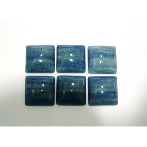 Quartzo Azul Cabochão Quadrado 25 mm