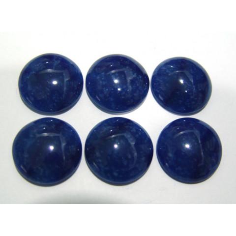 Quartzo Azul - Redondo Cabochão 25 mm