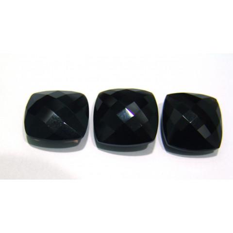 Quartzo Black Antique Briolet 20x20 mm