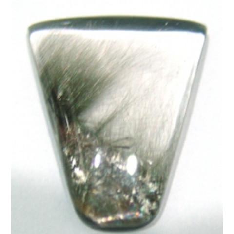 Quartzo com Titânio Cabochão Forma Irregular  32.27x26 mm