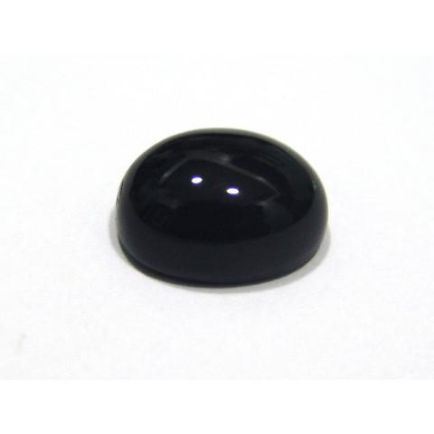 Quartzo Negro - Oval Cabochão 16X12 mm
