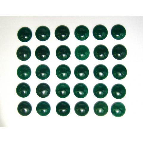 Quartzo Verde - Redondo Cabochão 15mm