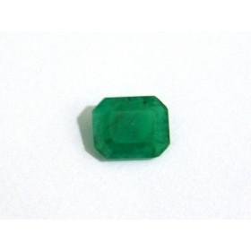 Esmeralda - Retangular Facetada 10x8 mm