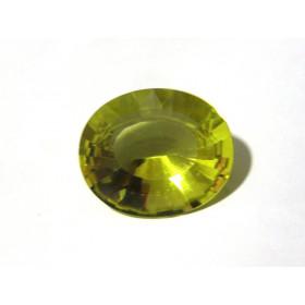 Green Gold - Oval Facetada 30.30x25.30 mm