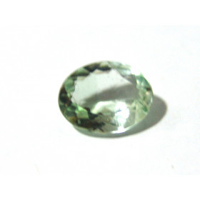 Prasiolita - Oval Facetada 16x13 mm