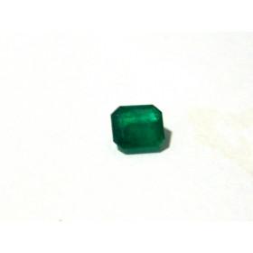 Esmeralda - Retangular Facetada 5.30x5 mm