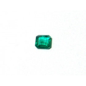 Esmeralda - Retangular Facetada 5.70x5 mm