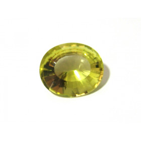 Green Gold - Oval Facetada 30x25 mm