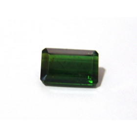 Turmalina Verde - Retangular Facetado 16x9 mm