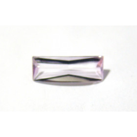 Ametista Rose de France - Baguete Facetada 22x8 mm