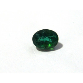 Turmalina Verde - Oval Facetado 8x6 mm
