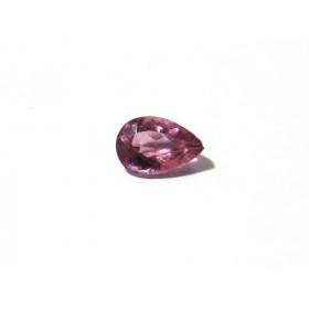 Turmalina Rosa - Gota Facetada 9x6 mm