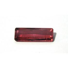 Turmalina Rosa - Retangular Facetada 24.50x8.60 mm