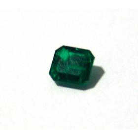 Esmeralda - Retangular Facetada 6.16x5.80 mm