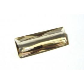 Citrino -Retangular Facetada 30x11 mm