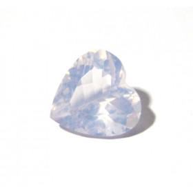 Ametista Lavender Moon Coração Facetado 16x16 mm