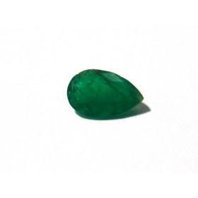 Esmeralda - Gota Facetada 9x6 mm