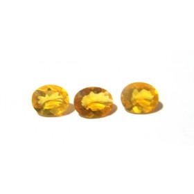 Opala de Fogo - Oval Facetado 11x8.50 mm