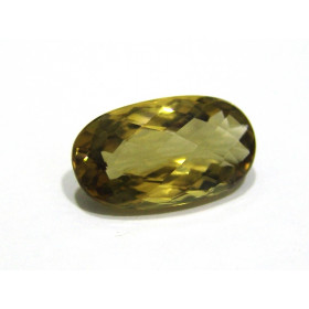 Green Gold Conhaque -  Oval briolet 23.50x13 mm