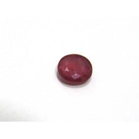 Rubí Facetado Oval 9.60x8.70 mm