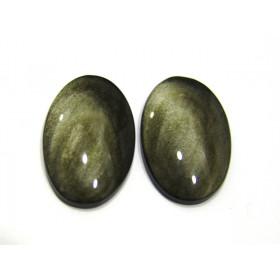 Obsidiana Dourada Cabochão Oval 41x26 mm