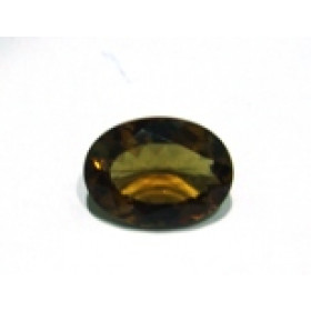 Green Gold Conhaque - Oval Facetado 21.50x16 mm