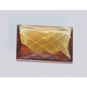 Green Gold Conhaque - Retangular Briolet